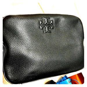 Designer bag! TORY BURCH* crossbody black leather